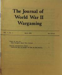 "Vol. 1, #1 ""Combining War in Europe and War in the Pacific"""