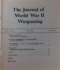 "Vol. 1, #3 ""Tinkering with Wargames, Recycling PanzerBlitz and Panzer Leader"""