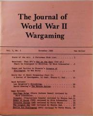 "Vol. 1, #5 ""War in the East Shall be Consigned to Oblivion, Traps & Tactics in Streets of Stalingrad, Survey of Naval Board Games"""