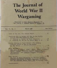 "Vol. 2, #2 ""Combining War in Europe and War in the Pacific"""
