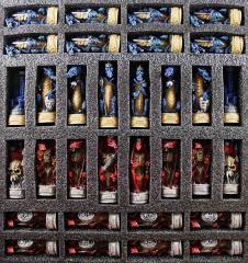 """3"""" Justice Vs. Evil - Dragon Chessmen"""