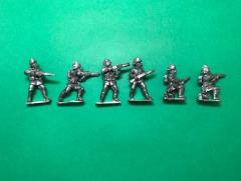 Turkish Rifles Skirmishing