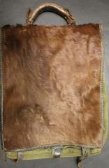 German WWII-Era Animal Hide Backpack
