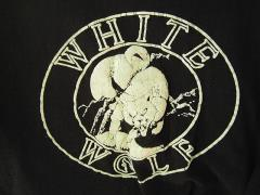 White Wolf Staff T-Shirt - First Style Ever Produced! (Black, L)