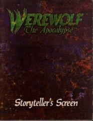 Storyteller's Screen w/Character Sheet Pad (1st Edition)
