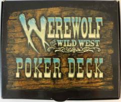 Werewolf - The Wild West, Poker Deck