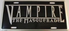 Vampire - The Masquerade - License Plate Cover