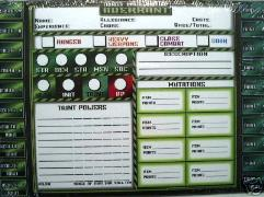 Aberrant Character Sheets