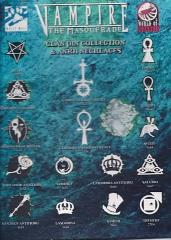 Clan Pin Collection & Ankh Necklaces Display Board