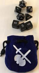 Fantasy Dice Set w/Bag