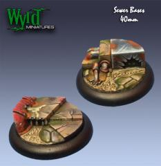 40mm Sewer Bases (Metal)