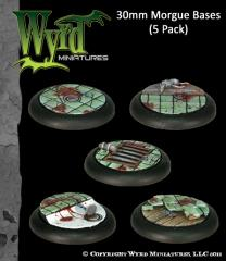 30mm Morgue Bases