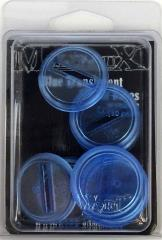 30mm Translucent Bases - Blue (1st Edition)