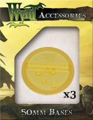 50mm Translucent Bases - Gold