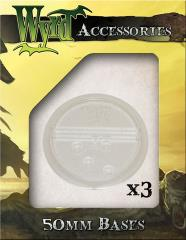 50mm Translucent Bases - Clear