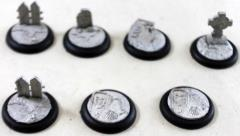 30mm Graveyard Bases & Inserts