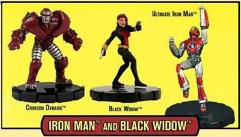 Marvel HeroClix Classics - Iron Man & Black Widow Battle Pack