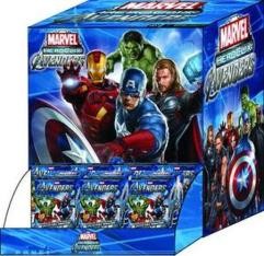 Avengers Movie, The - Gravity Feed Foil Booster Pack (Case - 24 Packs)