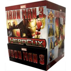 Iron Man 3 Gravity Feed Booster Pack (Case - 24 Packs)