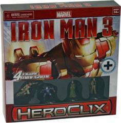 Iron Man 3 Movie 4 Figure Mini-Game