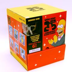 Simpsons, The - 25th Anniversary Series 1 Booster Pack (Case - 24 Packs)