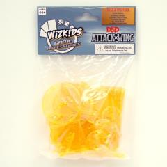 Attack Wing - Base & Peg Set, Yellow