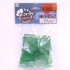 Attack Wing - Base & Peg Set, Green