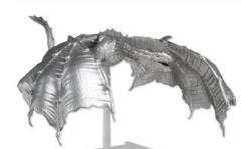 Elemental Evil, Ancient Silver Dragon Premium Figure