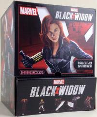 Black Widow Movie Booster Display