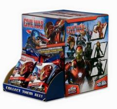 Captain America - Civil War Movie Gravity Feed (Case - 24 Packs)