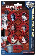 DC Comics Harley Quinn Dice & Token Pack