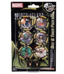 Spider Island - Dice and Token Pack