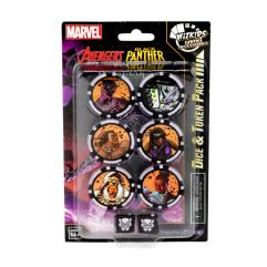 Avengers Black Panther and the Illuminati Dice and Token Pack