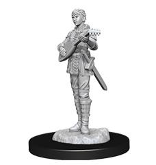 Half-Elf Female Bard