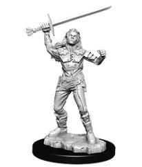Half-Orc Female Fighter