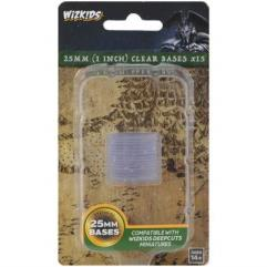 Round Base - Clear 25mm (1 inch)