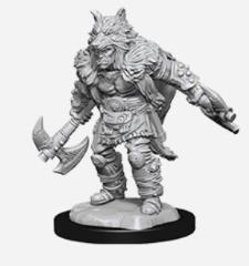 Half-Orc Male Barbarian