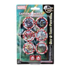 Captain America and the Avengers Dice and Token Pack