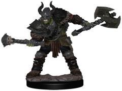 Half-Orc Barbarian Male