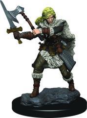 Human Female Barbarian