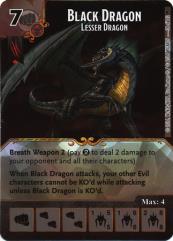Black Dragon - Lesser Dragon