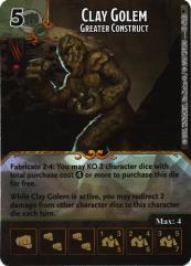 Clay Golem - Greater Construct