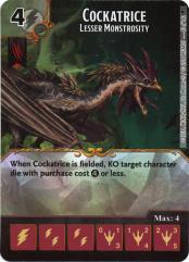 Cockatrice - Lesser Monstrosity