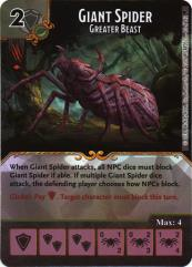 Giant Spider - Greater Beast