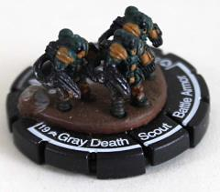 Gray Death Scout Battle Armor #014 - Veteran