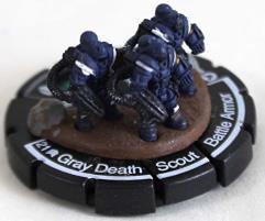 Gray Death Scout Battle Armor #016 - Elite