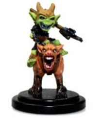 Goblin Commando on Dog