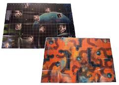 Borg Transwarp Hub/Qo'noS Double-Sided Map