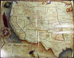 Map of the Weird West