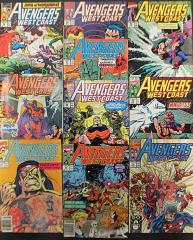 Avengers West Coast Collection - 10 Issues!
